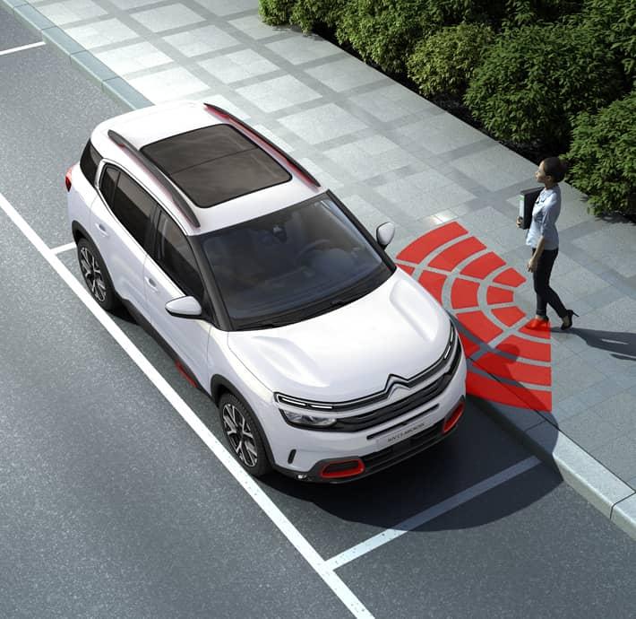 technologies d'aide à la conduite sur le SUV Citroën C5 aircross à Valence - Romans