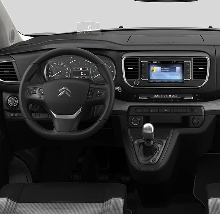 technologie de connectivité sur le van familial Citroën Spacetourer à Valence - Romans