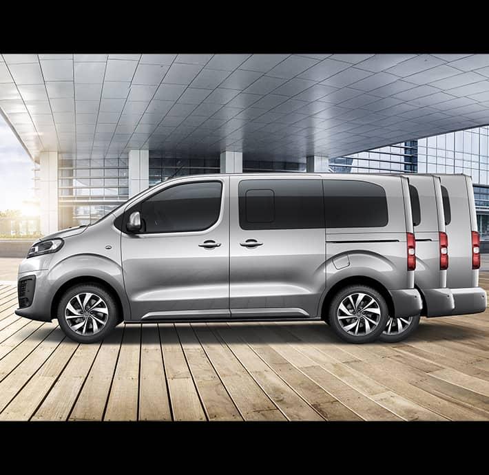 taille van familial Citroën Spacetourer Valence - Romans