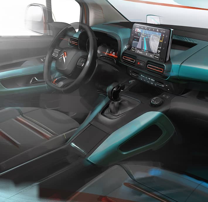 technologie du Citroën Berlingo en Drôme et en Ardèche