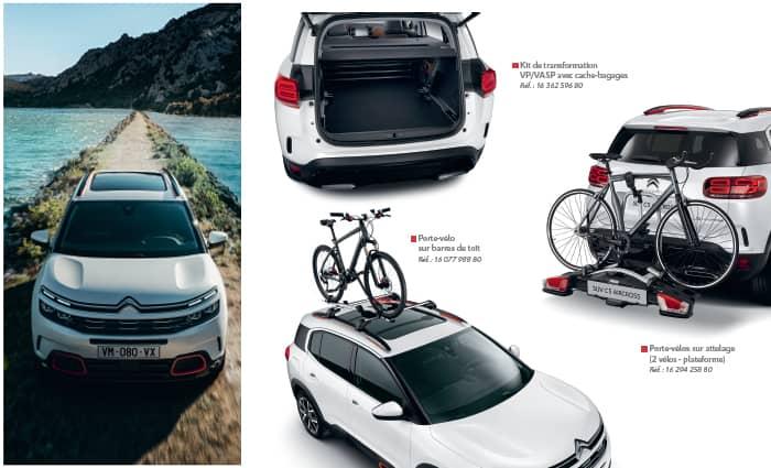 trouvez les accessoires dédiés aux suv c5 aircross hybrid en Drôme et en Ardèche