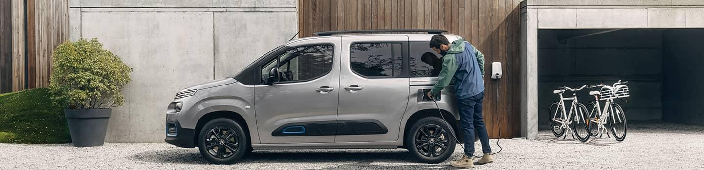 découvrez l'autonomie et les solutions de rechargement du Citroën Ë-Berlingo en Drôme et en Ardèche