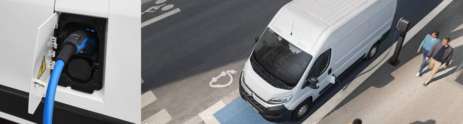 Connaitre l'autonomie et le temps de rechargement de l'utilitaire électrique Citroën Ë-Jumper Valence - Romans