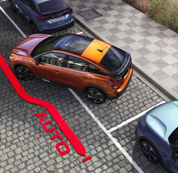 découvrez les aides à la conduite de la berline connectée Citroën C4 en Drôme et en Ardèche.