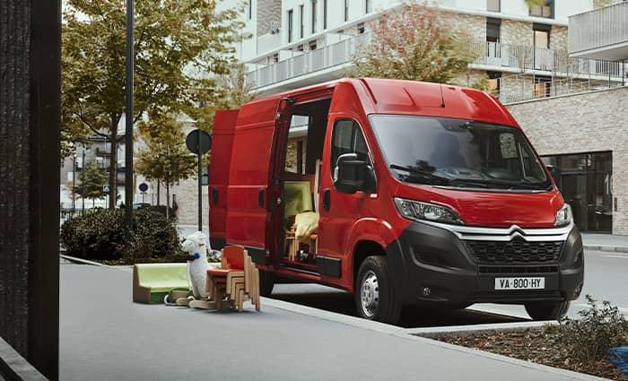 découvrez la version thermique Citroën Jumper à Valence - Romans