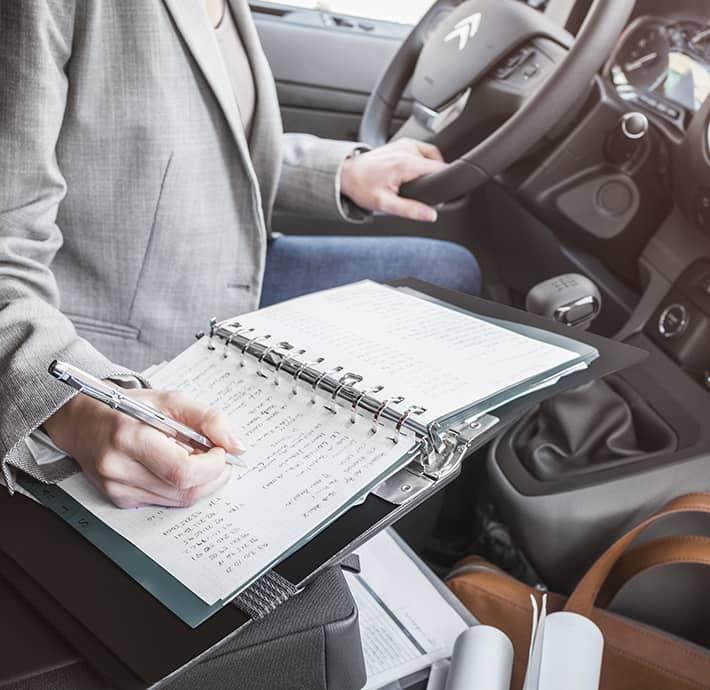 confort à bord de l'utilitaire électrique Citroën Ë-JUMPY en Drôme et en Ardèche