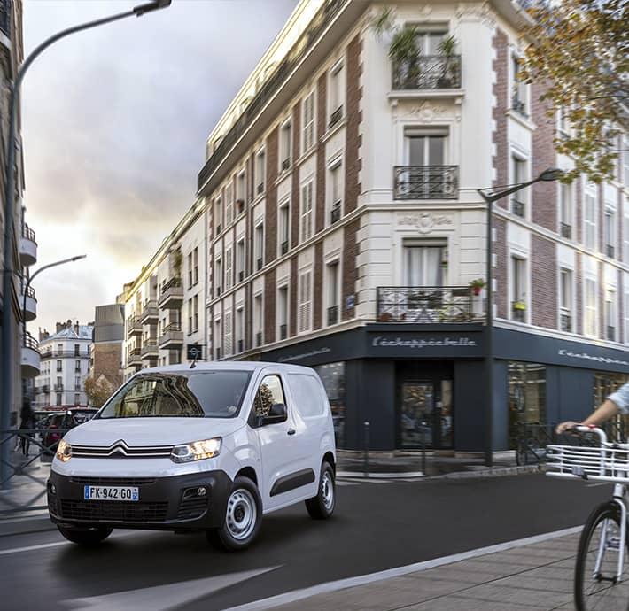 technologies dernière générations sur le nouveau utilitaire electrique Citroën Ë Berlingo Van à Valence - Romans