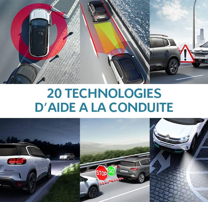 suv hybride avec 20 aides à la conduite pour plus de sérénité et de contrôle en Drôme et en Ardèche