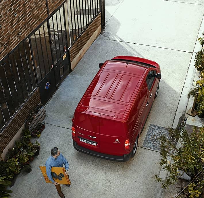 dimensions utilitaire personnalisable Citroën Jumpy à Valence - Romans