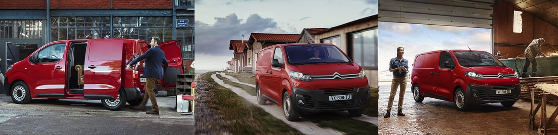 Citroën Jumpy un utilitaire personnalisable disponible pour plusieurs métiers et aménagements