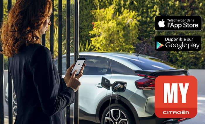 télécharger l'application My citroën sur App store ou Google Play en Drôme et en Ardèche
